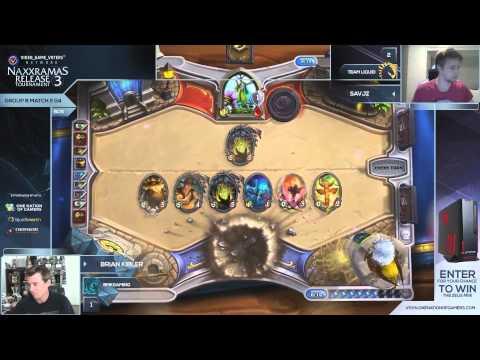 highlight - HIghlight: Brian Kibler v Savjz Group B -- Watch live at http://www.twitch.tv/onenationofgamers.