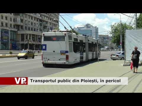 Transportul public din Ploiești, în pericol