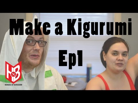 The Cosplay Closet: Digimon Kigurumi Ep1 | Heroes of Boredom