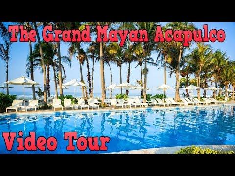 The Grand Mayan Acapulco Resort Mexico - Video Tour