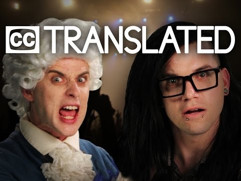 [TRANSLATED] Mozart vs Skrillex. Epic Rap Battles of History. [CC]