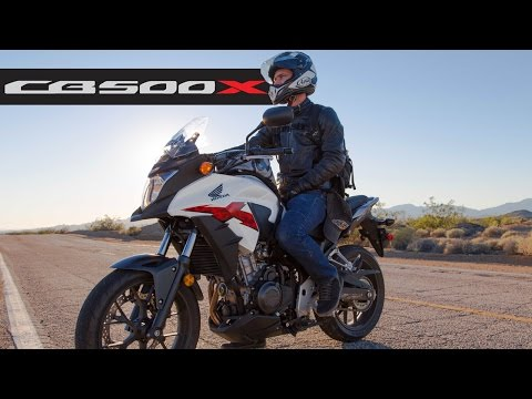 Honda CB500X - MotoGeo Review