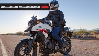 4. Honda CB500X - MotoGeo Review