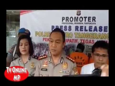 polisi tangkap pengedar ganja di cikokol kota tangerang