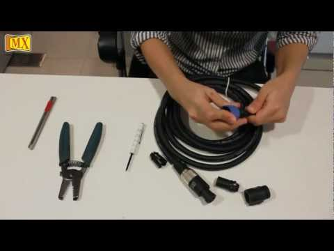 How to Make Speakon Cable