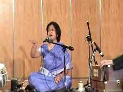 thumri bhairavi - Thumri Bhairavi By Seema Hanamsagar,performance in LA Tabla:Hemant Ekbote Harmonium:Dr.Gopal Marathe For more information visit www.seemahanamsagar.com.