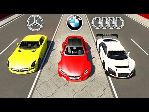 Mercedes vs Audi vs BMW (Crash-Test Simulator)
