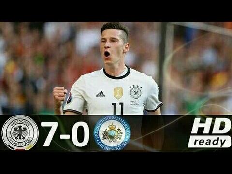 Hasil Germany vs San Marino 7-0 / All Goals & Highlights / Kualifikasi Piala Dunia 2018
