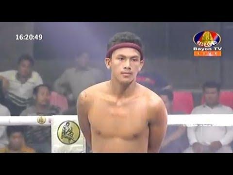 Chhoeun Chhaiden vs Aphiwat(thai), Khmer Boxing Bayon 12 May 2018, Kun Khmer vs Muay Thai