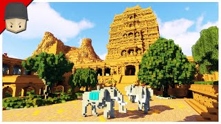 How a Minecraft Temple should look!