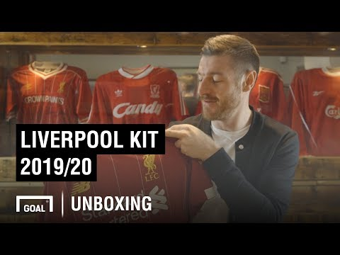 Liverpool Kit 2019/20 Unboxing