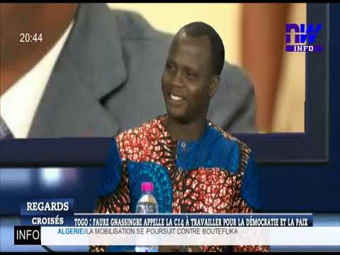 Togo: Faure Gnassingbé appelle la C14 à travailler pour la démocratie et la paix (RC P4)