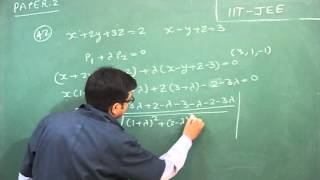 Video Solution Of Problem 42 (1) Of IIT-JEE II
