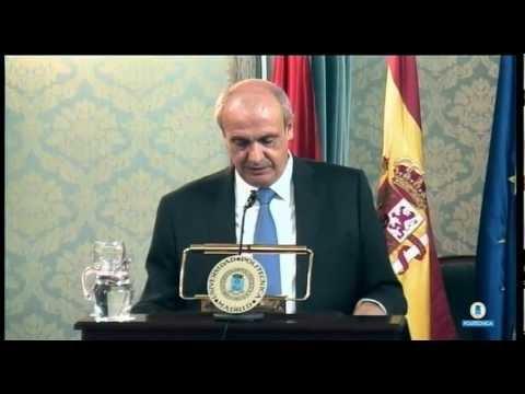 Inauguration des Rektors der UPM, Carlos Conde