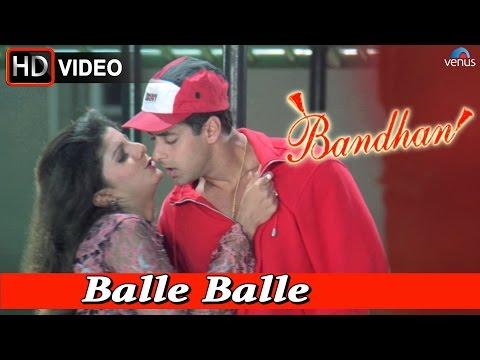 Balle Balle (HD) Full Video Song   Bandhan   Salman Khan, Rambha  