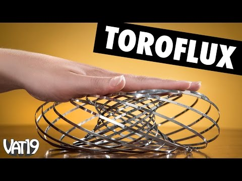 magical - Buy here: http://www.vat19.com/item/toroflux-stainless-steel-toy?adid=youtube Please subscribe to our channel: http://www.youtube.com/user/vat19com Hundreds more curiously awesome products...
