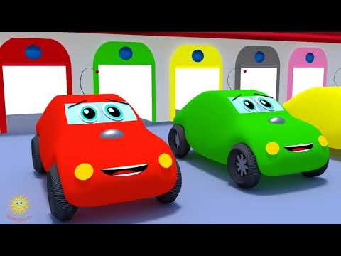 Autá a farby pre deti po anglicky   cars   colors   Numbers