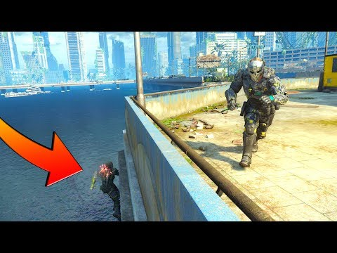 HE GOT SO LUCKY I DIDN'T SEE HIM ON THIS WALL-RUN!?!? HIDE N' SEEK ON BLACK OPS 3 (видео)