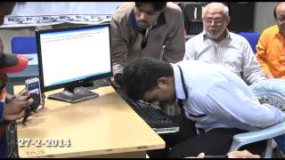 Guinness World Record - Fastest To Type The Alphabet With Nose