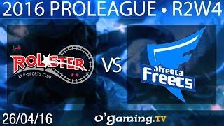 KT Rolster vs Afreeca Freecs - 2016 Proleague - Round 2 Week 4