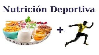 Curso de Nutrición Deportiva y Dietética