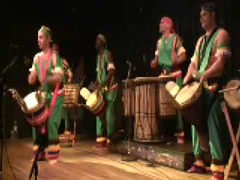 Djembe Master Bolokada Conde Djembe Drums with Les Percussions Melenke Peform at La Pena