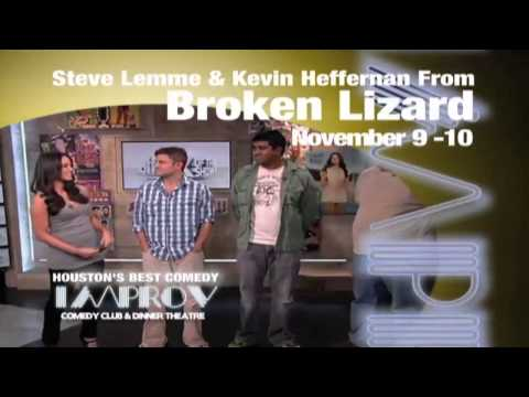 Improv Houston - Broken Lizard (Steve Lemme & Kevin Heffernan) Live