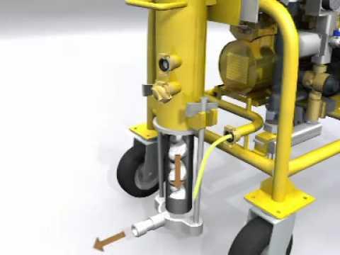 maquina de yeso - Máquina que mezcla , bombea y proyecta materiales premezclados como son el mortero, yeso, tixotropicos para tematización, mortero monocapa, autonvielante de ...