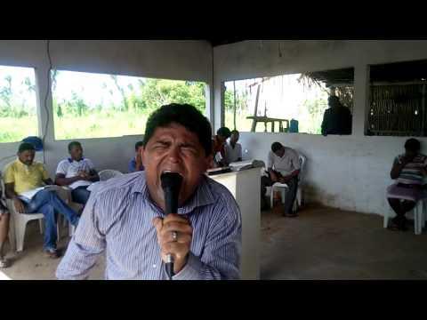 Pastor Ronivon Rodrigues  Pregando em Penalva MA