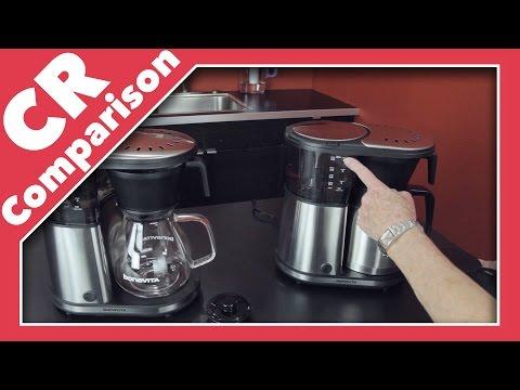 Bonavita 8-Cup Coffee Maker Glass Carafe vs Thermal | CR Comparison