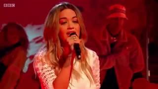 Rita Ora performs