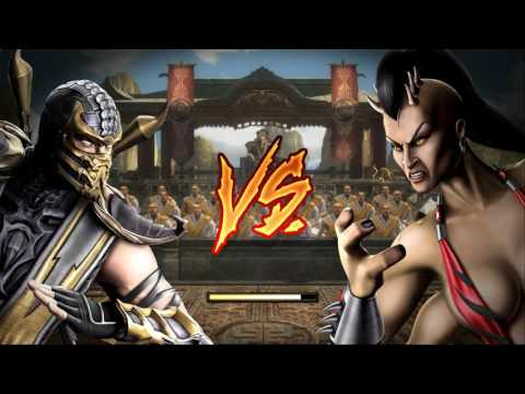 Mortal Kombat Komplete Edition on Windows XP/2003