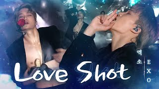 Video EXO, 한류 제왕의 미친 포스 'LOVE SHOT' @2018 SBS 가요대전 MP3, 3GP, MP4, WEBM, AVI, FLV Juni 2019