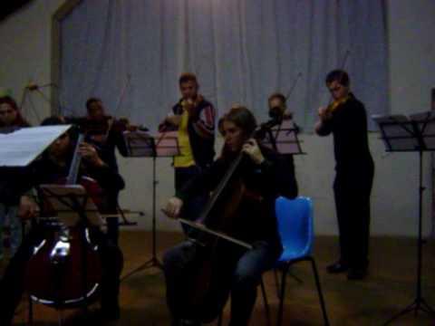 Escola de Música de São Brás do Suaçuí - Oficina suzuki encerramento