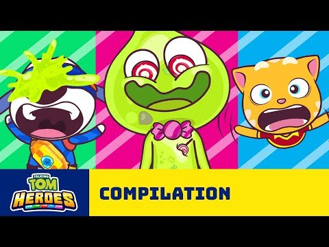 Talking Tom Heroes – Super Strange Stories (Cartoon Compilation)