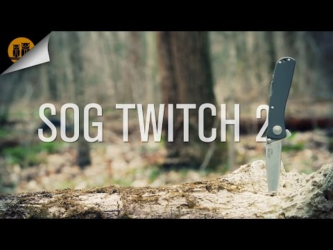 SOG Twitch II [2] Assisted Folding Knife Review