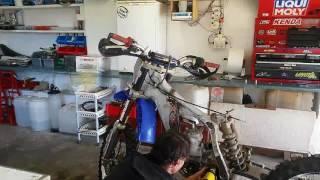 8. Yamaha YZ250 rebuild