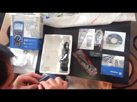 Видео Профессиональный мультиметр с функцией True RMS DT-9979