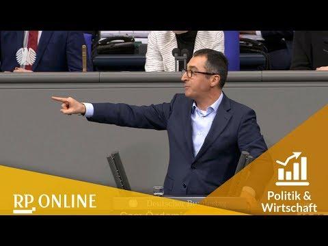 Grünen-Politiker Cem Özdemir rechnet mit der AfD ab: Die ganze Rede