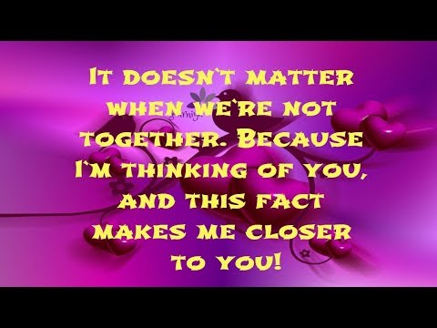 Romantic quotes - cute thinking of you messages The Best Thinking of You Quotes for Her  For Him