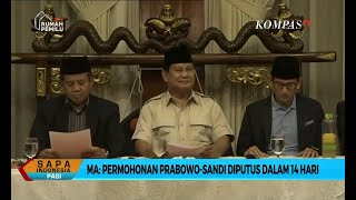 Video MA: Permohonan Prabowo-Sandi Diputus Dalam 14 Hari MP3, 3GP, MP4, WEBM, AVI, FLV Juli 2019