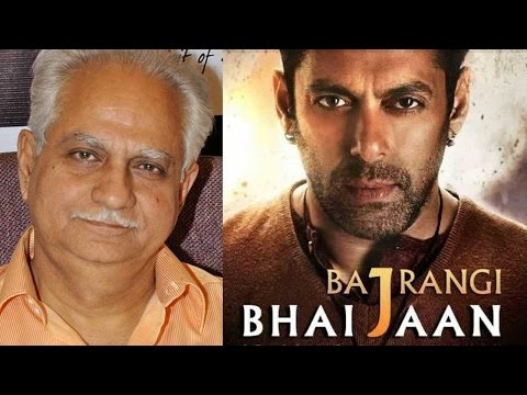 Ramesh Sippy Speaks On Salman Khan's Bajrangi Bhai