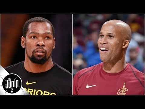Kevin Durant responds to Richard Jefferson's criticism on Instagram | The Jump