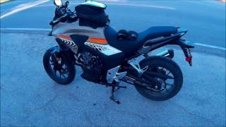 10. 2016 Honda CB500X ABS update at mile 1379