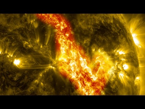 sun - A magnetic filament of solar material erupted on the sun in late September, breaking the quiet conditions in a spectacular fashion. The 200000 mile long fil...