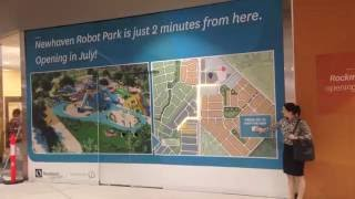 Newhaven Australia  city pictures gallery : Newhaven Robot Park Sign at Harrisdale Shopping Centre
