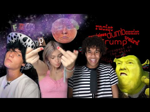 ANTI-TRUMP 🍊 Tik Tok Compilation (to piss off conservatives lol)