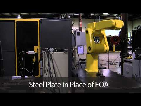 FANUC ArcMate 50iL Performing Repeatability Test