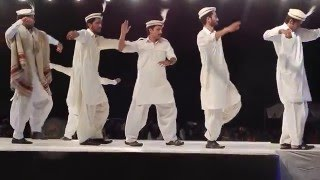 Students from Gilgit- Baltistan presenting their traditional dance