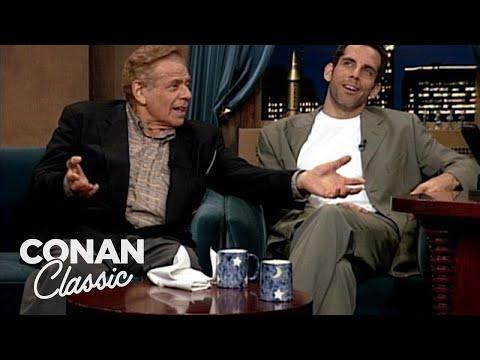 Ben & Jerry Stiller | Late Night with Conan O'Brien